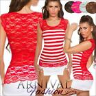 NEW WOMENS FASHION lace DANCE TOP XS S M cap sleeve lacy tops HOT CASUAL CLOTHES