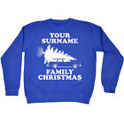 PERSONALISED SURNAME FAMILY CHRISTMAS SWEATSHIRT jumper griswold santa x-mas