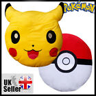Pokemon Cushion Pikachu Pokeball Pillow Cartoon Cushion Toy XMAS