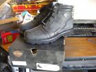 NEW Harley Davidson Mens Leather Boots Shoes Medium Black Jasper 5 Inch