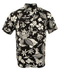 Polo Ralph Lauren Men's Linen Silk Tropical Graphic Shirt