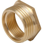 BRASS BSP REDUCING HEXAGON BUSH MALE TO FEMALE ADAPTOR VARIOUS SIZES