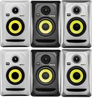 KRK ROKIT 4 G3 RP4 30 Watt Powered Studio Monitor In Black White Silver - Pair