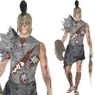 Zombie Gladiator Costume – Mens Fancy Dress Roman Historical Halloween Soldier
