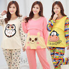 Внешний вид - Maternity Sleepwear Suit Pregnant Pajamas Nursing Tops+Pants Cotton Nightgown