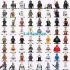 Super Hero Star Wars Mini Figures Clone Trooper Han Solo Yoda R2-D2 Fits LEGO $2.69 AUD