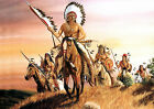 RED INDIANS (OUT FOR JUSTICE) ART PRINT 01
