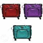 """Tutto 20"""" Serger on Wheels - Choose from 3 Colors - Carry Bag Sewing Travel Case"""