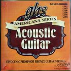 CORDES BRONZE GHS MEDIUM ACOUSTIC GUITAR STRINGS 13-56 Americana Series CR435