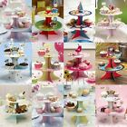 3/2 Tier Party Cake Stand Cupcake Muffin Food Serve Birthday Wedding Baby Shower