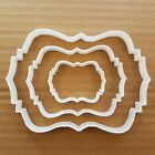 Plaque Cookie Cutter Award Biscuit Dough Pastry Name Frame Message Picture Prize