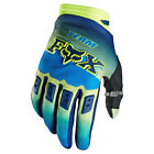 Gants Motocross Fox Dirtpaw Imperial Bleu Jaune BMX Downhill Gloves Enduro