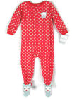 Carter's Baby Girl Coral Owl 24 Months Footed Pajamas Fleece Sleepwear NWT