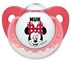 NUK Trendline Disney Mickey Minnie Mouse Soother Size 1 (0-6m), Size 2 (6-18)
