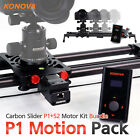 Konova Motorized Bundle P1 Carbon Camera Slider with Bag Parallax 4 Sizes exist