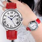 New Fashion #B Women's Quartz Wrist Watch Leather Roman Style Waterproof Watches