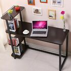 Westwood Computer Desk - Home Office PC Laptop Table With 4 Shelves - CD07