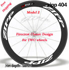 Road Bike Carbon Clincher rim decals for Firecrest Zipp 404 two wheels stickers