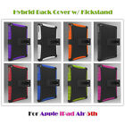 Premium Hybrid Armor Plastic KickStand Back Cover Case for Apple iPad Air 1 2