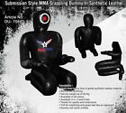 """Submission All Black Synthetic Leather Grappling Dummy 69"""""""