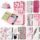 Magnetic Leather Flip Wallet Card Slots Case Stand Cover For iPhone 6/7/8 Plus X