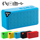 Mini Cube Wireless X3 Bluetooth Speaker Support USB Flash Drive/TF Card/LINE-IN