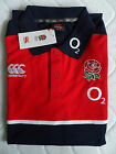 S M L ENGLAND RUGBY TRAINING POLO SHIRT jersey Canterbury New Zealand Tag