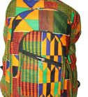 Africa Ghana Kente Backpack Racksack