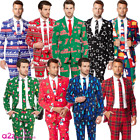 MENS CHRISTMAS SUIT ADULT FESTIVE OPPOSUITS OPPOSUIT XMAS PARTY NOVELTY SUITS