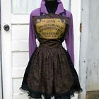 Ouija Board Apron Mystical Oracle Goth Halloween Cook Chef Baker Hostess