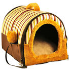 S M L Pet Dog Bed Winter Warm Indoor House Puppy Cat Portable Sofa Basket Mat