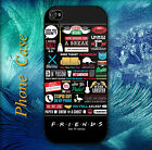 Friends TV Series Collage Pictorial Hard case for iPhone & Samsung