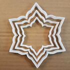Snowflake Cookie Cutter Dough Pastry Biscuit Winter Ice Xmas Christmas Weather