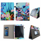 Apple iPad 2/ 3/ 4 Case Slim PU Leather Folio Stand Book Style ID Slots Cover