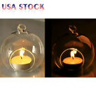 3-6-12-20x Candle Tealight Holder Hanging Glass Candlestick Wedding Dinner Décor