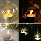 3/6/12/20x Candle Tealight Holder Hanging Glass Candlestick Wedding Dinner D�cor