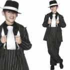 Boys Gangster Suit 1920s Bugsy Malone Fancy Dress 20s Costume