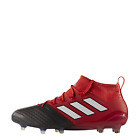 adidas ACE 17.1 Primeknit FG Football Boots - Red / White / Black