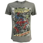 NEW OFFICIAL Marvel Comics Amazing Spider-Man Comic Mens T-Shirt Tee Top for Men