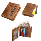 Mens Casual Vintage Trifold Military Tactical ID Billfold Wallet Coin Pocket Bag