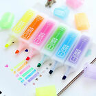 Candy Color Fluorescent Highlighter Marker Pens Painting Supplies Gifts