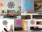 Wall Decal Hands Buddhism India Mandala Indian Positive Flower Om Yoga Lord Room