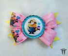 Despicable Me MINIONS Inspired Boutique Bottle Cap Cupcake Hair Bow