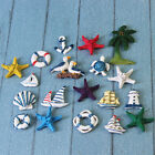"SET of 7 to 8 NAUTICAL 3D REFRIGERATOR MAGNETS 1.5"" - 3"" each depending on style"