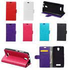 6 Colors Leather Folio Flip stand Cover Case For Samsung Galaxy Phones 01 A