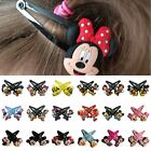 1-5pairs Mickey Minnie Donald Duck kid party gifts Hair Clips Hairpins Accessory