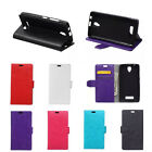 6 Colors Leather Folio Flip stand Cover Case For Various Phones 01