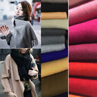 Fashion Women Men Cashmere Scarf Winter Warm Solid Long Pashmina Shawl Wrap New