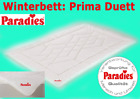 "Paradies ""Prima DUETT"", Gr. 155x220 cm, Steppbett, Bettdecke, Herbst/Winter,NEU"