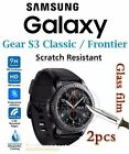 2xSamsung Galaxy Gear S3/S2 Classic Frontier Tempered Glass LCD Screen Protector